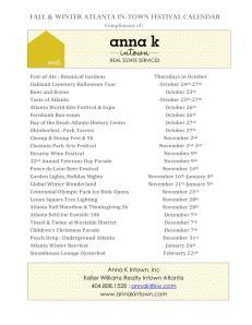 Anna K Intown festivals