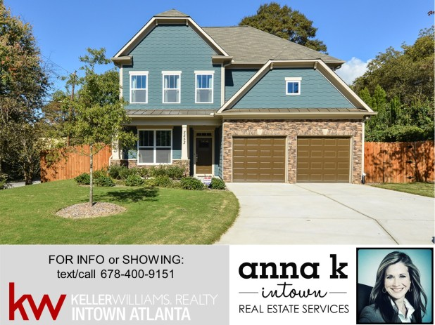 JUST LISTED in HOT Riverside / West Midtown! OPEN HOUSE this Sunday from 1-3 pm!